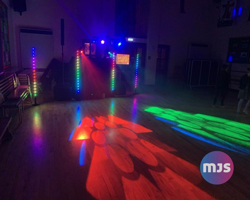 primary school discos by MJS entertainment